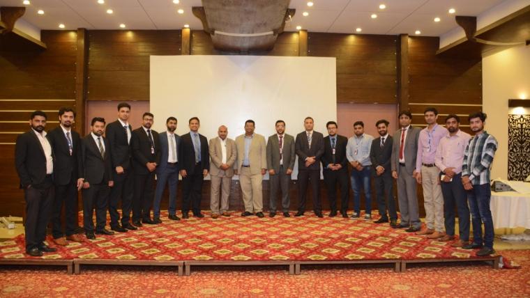 Product Marketing Seminar at Faisalabad